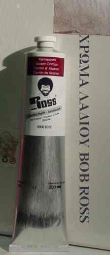 BOB ROSS OIL COLOR 200ml Alizarin Crimson N.6322