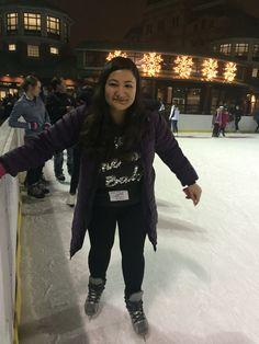 First time ice skating after procrastinating for so long!!