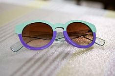 DIY: Two-Tone Sunglasses