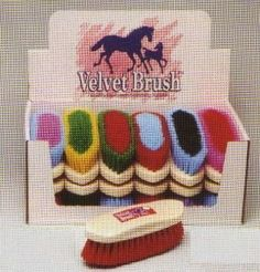 Horse Brush 8 1/4 x 2 3/4 by Kathys Show Tack. $9.59. Horse Brush 8 1/4 x 2 3/4This workhorse of a brush offers medium stiff bristles that help bring dirt to the surface