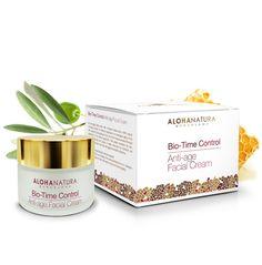Bio-Time Control, crema facial antiedad, elimina arrugas y da firmeza y tono a la piel con ingredientes naturales de calidad bio.