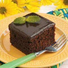 {Moist Chocolate Cake Recipe}  Just made this in cupcake form...haven't had one yet, but they look great!