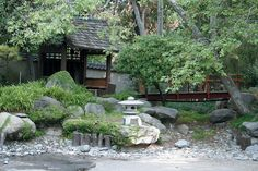 Covered Japanese waiting bench