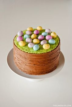 The Bottom of the Ironing Basket: Five Recipes : Easter Baking.