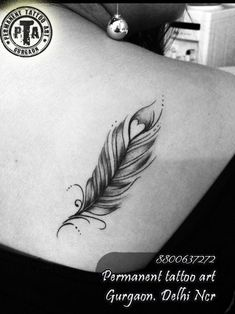 awesome Friend Tattoos - feather tattoo - Google Search...