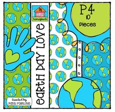 P410 Sets ... CREATE QUICK & and EASY !Each P410 Set comes complete with a border, frames, clipart and coordinating papers to make creating your TpT resource or classroom activity quick and easy!This set includes:- 1 border- 1 frame- 1 earth- 1 loving hand- 3 digital papers- 3 b/w images (earth, hand, frame)10 images.