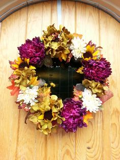 Fall wreath by Brandie
