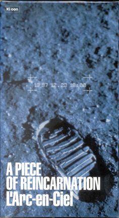 L'Arc~en~Ciel [Videos] VHS >> A PIECE OF REINCARNATION >> 1998.04.22