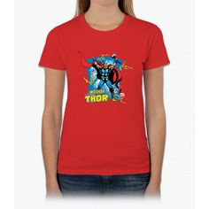 Mighty Thor Womens T-Shirt