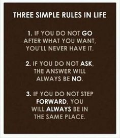 3 Simple Rules ✨