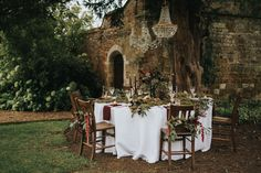 Secret Garden Wedding Inspiration From Stapleford Park With Styling & Planning by Natalie Hewitt Weddings & Events Images From Henry Lowther