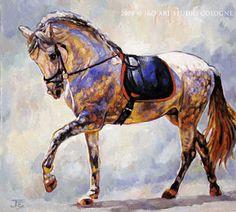 Horse art | Pferde gemalt: June 2008