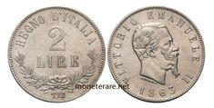 2 Lire: Valore, Curiosità e Rarità delle Monete da 2 Lire Italiane   MoneteRare.net Euro, Coins, Italian Lira, Rooms