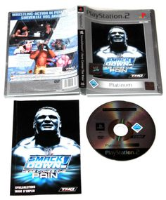 WWE SmackDown!: Here Comes The Pain für Playstation 2,in OVP