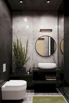 Modern Small Bathroom Design The Basic Components of Modern Bathroom Designs Modern Small Bathroom Design. Incorporating a modern bathroom design will give you a more … Bad Inspiration, Bathroom Inspiration, Bathroom Ideas, Bathroom Remodeling, Remodel Bathroom, Remodeling Ideas, Bathroom Vanities, Master Bathroom, Bathroom Cabinets