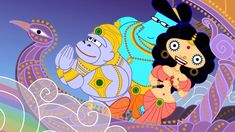 Sita Sings the Blues - a gorgeous animated movie by Nina Paley set to fantastic songs from the 1920's  - it's amazing! (and bonus - the filmmaker has released the film for free - you can download it or stream it at no cost)
