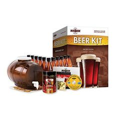 Mr Beer Craft Brews Collection Complete Home Brewing Kit This kit is a great gift for the beer lover in your family. Brew your own beer at home . Beer Making Kits, Wine Making, Beer Brewing Kits, Home Brewing, Craft Beer Gifts, Brew Your Own Beer, Craft Bier, Brewing Equipment, Pet Bottle