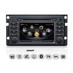 Mercedes-Benz-Smart-ForTwo-ForFour-Autoradio-DVD-GPS-Navigationssystem-SLK-200-280-350-55-Einbau-Navi