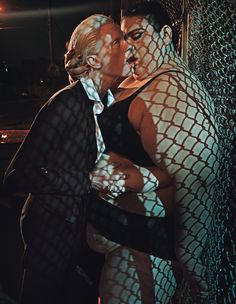 Steven Klein shoots Kristen McMenamy, Crystal Renn, and Janie Martinez in 'Love In All The Wrong Places' for the September 2013 issue of W Magazine. Crystal Renn, International Kissing Day, Edward Enninful, David And Victoria Beckham, David Beckham, W Magazine, Magazine Covers, Vogue China, Vogue Uk