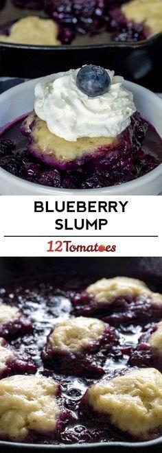 Blueberry Slump