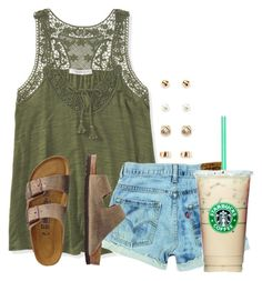 """""""Life is Good☀️"""" by flroasburn ❤ liked on Polyvore featuring Aéropostale, TravelSmith and Forever 21"""
