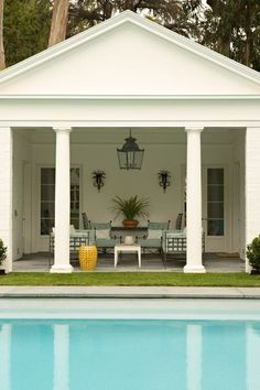 Be sure to light your outdoor living space.  Don't make the dusk a reason your guests must leave early or a reason to send you inside.