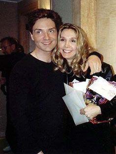 Cynthia Rhodes and Richard Marx (Aww BEAUTIFUL couple)