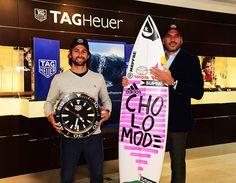 @TAGHeuer anuncia como nuevo amigo de la marca al surfista peruano, @GabrielVillaran.