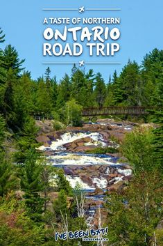 Looking to get a taste of true Canadian beauty? Get a dose of nature on a great Northern Ontario road trip with this itinerary. Full of tips, tricks & more! Alberta Canada, Canada Ontario, Canada Eh, Visit Canada, Canada Travel, Travel Usa, Vancouver, Places To Travel, Places To Visit