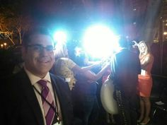 """#LouisReyes: Finished with the media with Cristian Castro interview. #ElGrito #LACity2014 ""//Bello nuestro Cris"