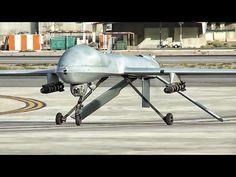 Predator & Reaper Drone Operations • Kandahar AF - YouTube