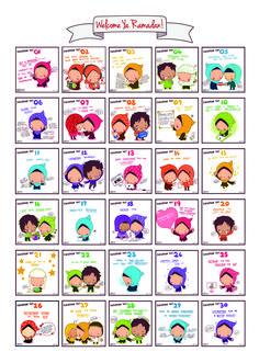 Kids poster for Ramadan!