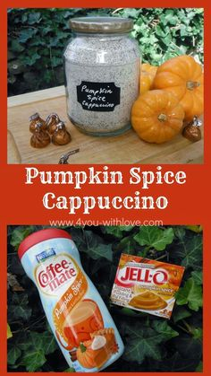 4 You With Love: Instant Pumpkin Spice Cappuccino