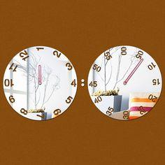 2015 promoção de acrílico de parede 3d cristal espelho design moderno de luxo relógio de quartzo relógios frete grátis alishoppbrasil