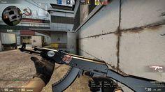 Bug makes AK skin black #games #globaloffensive #CSGO #counterstrike #hltv #CS #steam #Valve #djswat #CS16