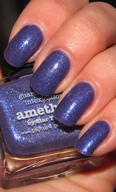 piCture pOlish 'Amethyst' swatched by Leona Carolina! Picture Polish, Manicure, Nails, Amethyst, Nail Polish, Hair Beauty, Nail Art, Blog, Pictures
