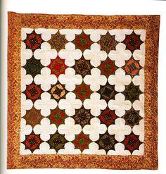8-point Vrescent, 1840-1850, cotton, Shelburne Museum