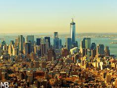 Scatti e Bagagli: 7 giorni a New York, la città che non dorme mai! Manhattan Skyline