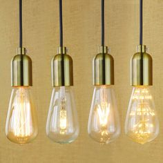 E27 light socket i shape vintage retro edison bulb pendant lamp pendant lamp holder gold bronze modern simple vintage ceiling light socket with wire mozeypictures Choice Image