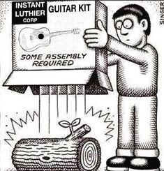 Luthier humor... - The Acoustic Guitar Forum