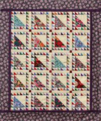 Free Lady of the Lake pattern from Pat Speth, who has a quilt in the March/April issue of Quiltmaker called Minnesota Homewarming