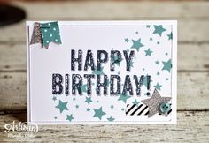 Stampin Up Artisan Blog Hop- Birthday Surprise | Creations by Mercedes