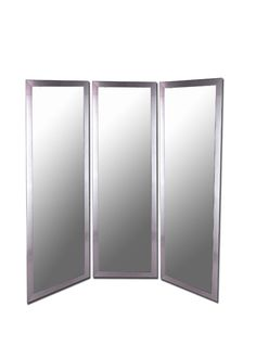 Pictures In Gallery Royal Stainless Full Length Free Standing Tri Fold Mirror x in