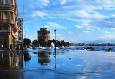 Thessaloniki, Greek Beauty, Macedonia, Oh The Places You'll Go, The Locals, Old Photos, New York Skyline, Greece, Beautiful Places