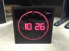 Dbtech Circling Led Clock http://www.lcwprops.com/item?id=7306