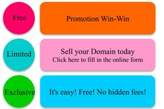 Online Auflistung in nur 2 Minuten !  Promotion Win-Win. Verkaufen Sie Ihre Domain-Namen heute - es ist einfach! Kostenlos! Keine versteckten Gebühren! Einfach Auflisten online bis zu 3 Domainnamen einschliesslich Ihrer vernünftigen Preisvorstellung und wir listen alle kostenlos, mit einer Provision von 10% nur bei erfolgreichem Verkauf (wenn Ihr Angebot auf unserer Plattform verkauft wird, ziehen wir 10% vom Gesamtbetrag ab). Wir sichern der Käufer Zahlung bevor die Eigentumsübertragung…