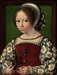 1478–1532), A Young Princess (Dorothea of Denmark?), ca. 1530. Oil on oak panel. The National Gallery, London
