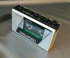 *Rare* Vintage 1980s Sony Walkman WM-28 Cassette Player - Pearlized White #walkman #retro #1980# #sony