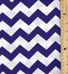 Purple Chevron Fabric 100 percent Cotton by SouthernSisterSupply