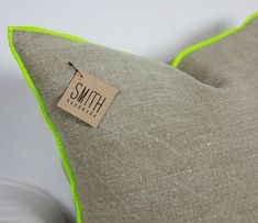 Beautiful pillows from Smith Handmade